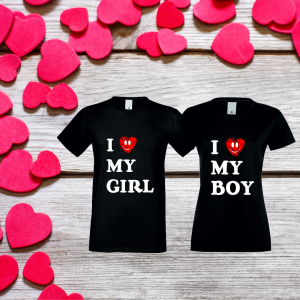 Tričká pre páry - perfektný darček pre Valentína