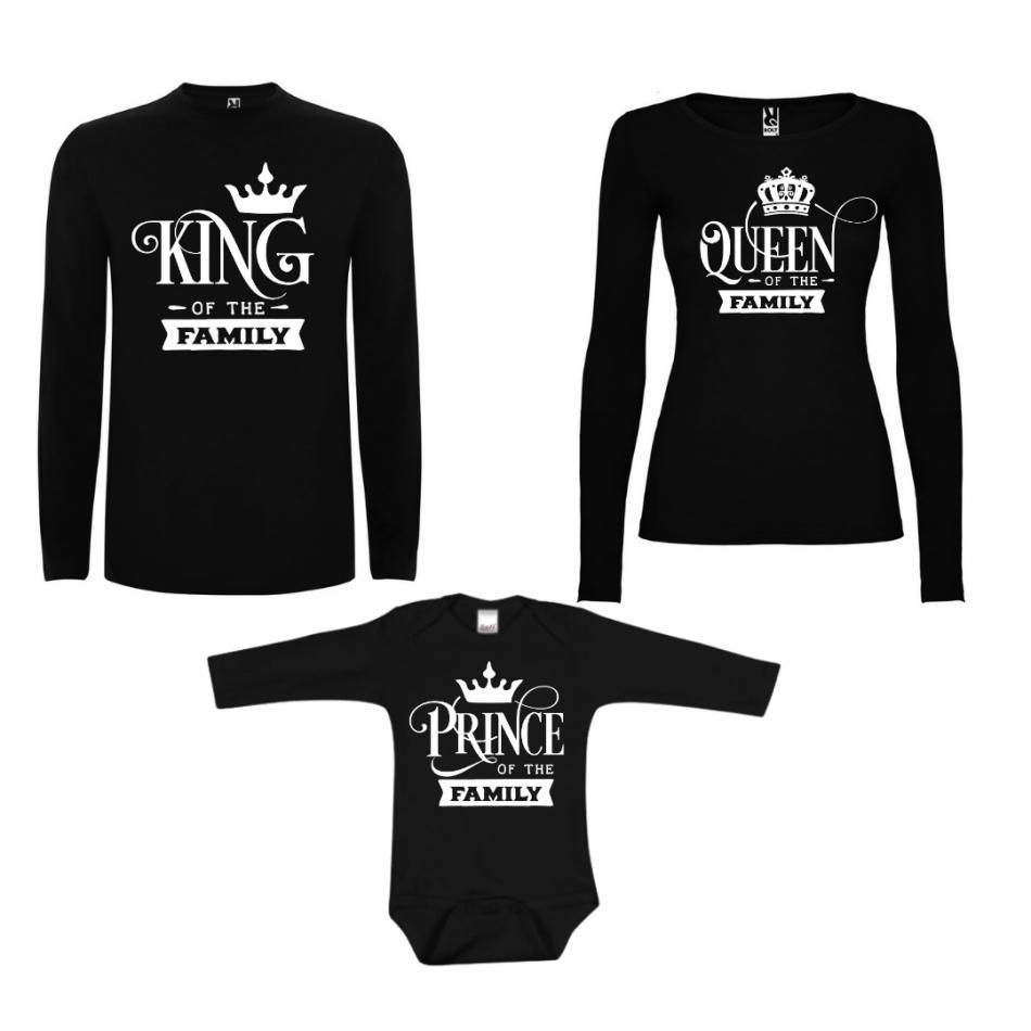 Rodinný set v čiernej farbe Prince of the Family