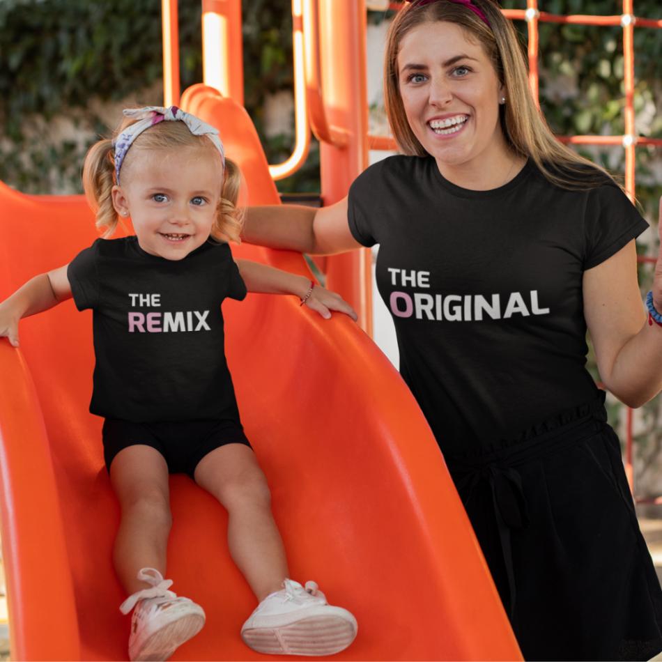 Tričká pre rodiča a dieťa The Original - The Remix