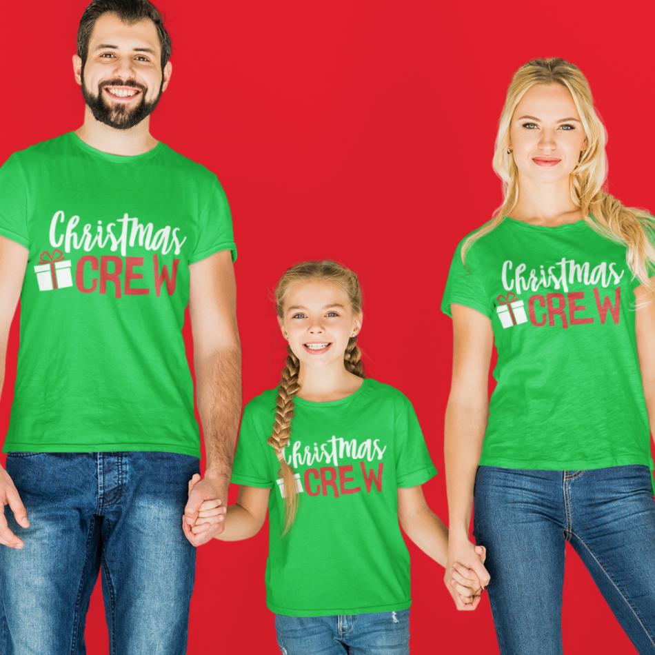 Vianočná rodinná sada v čiernej farbe Christmas Present