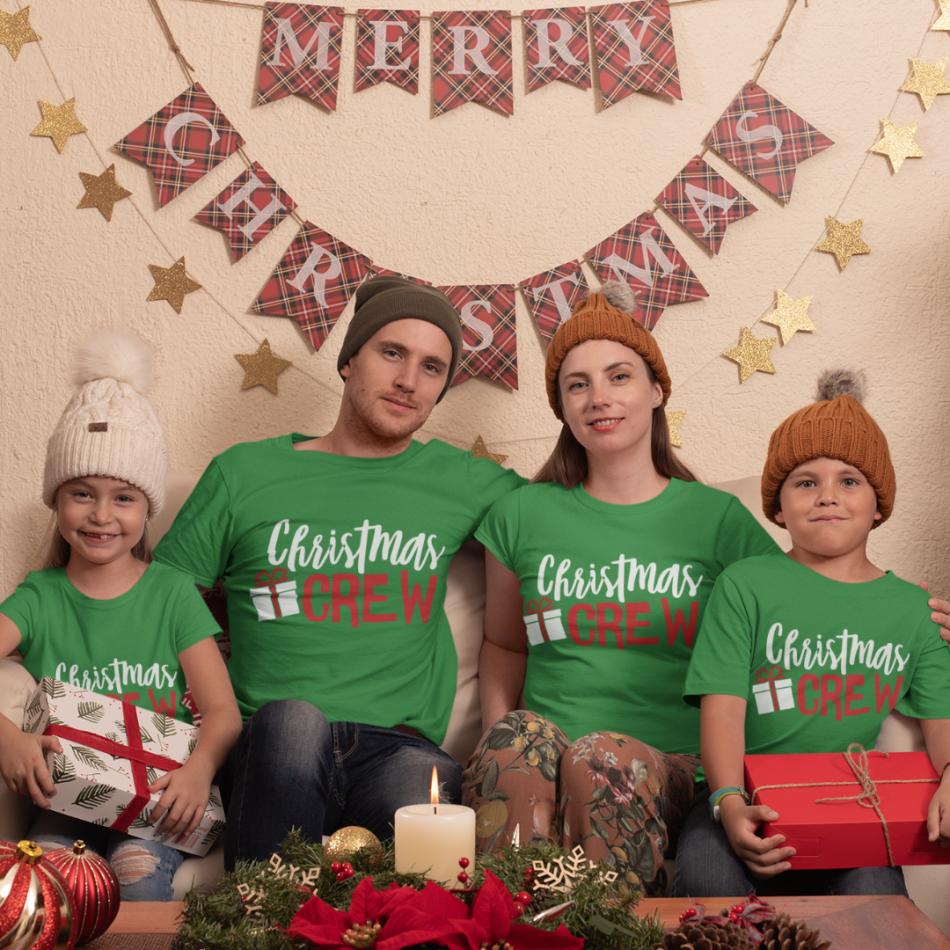 Vianočná rodinná sada tričiek Christmas Present