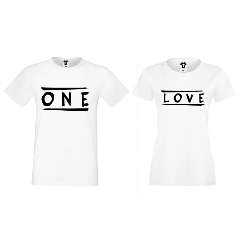 Tričká pre páry One Love (D-CP-172)