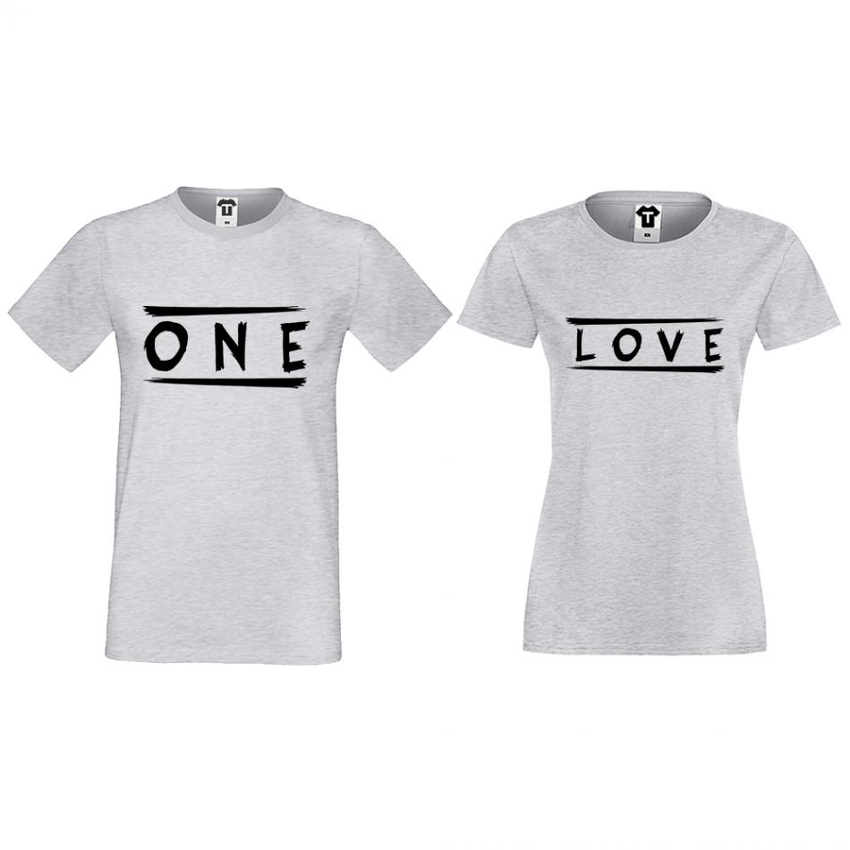 Tričká pre páry One Love (D-CP-172G)