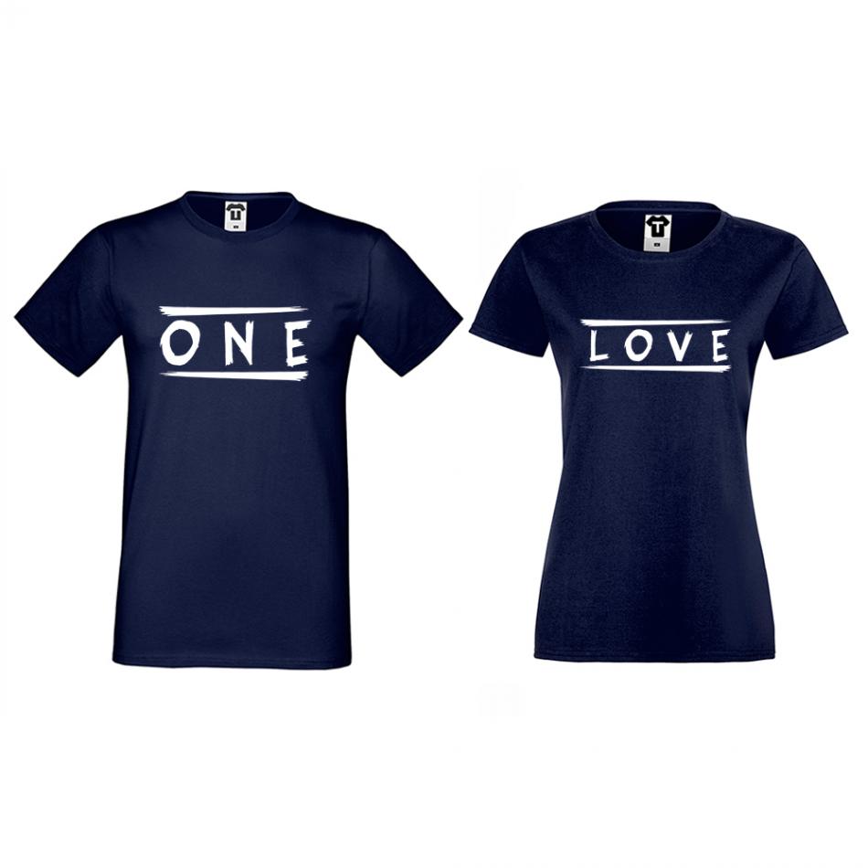 Tričká pre páry One Love (D-CP-172N)