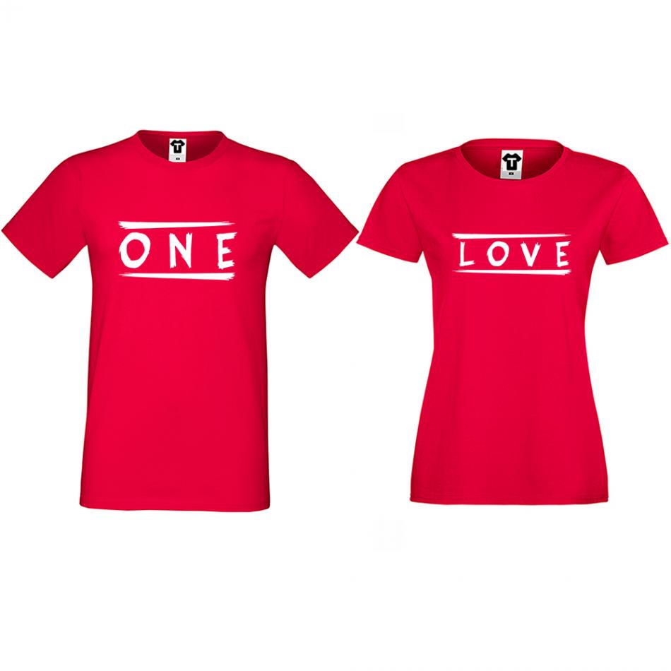 Tričká pre páry One Love (D-CP-172R)