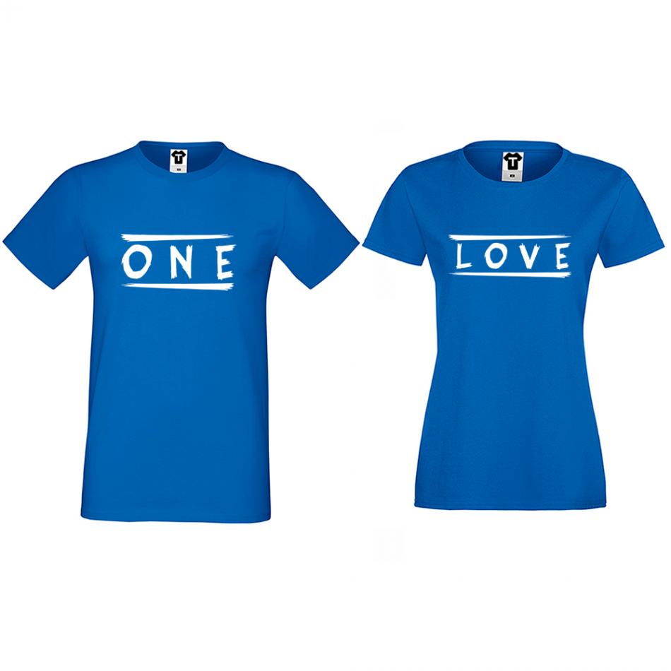 Tričká pre páry One Love (D-CP-172S)