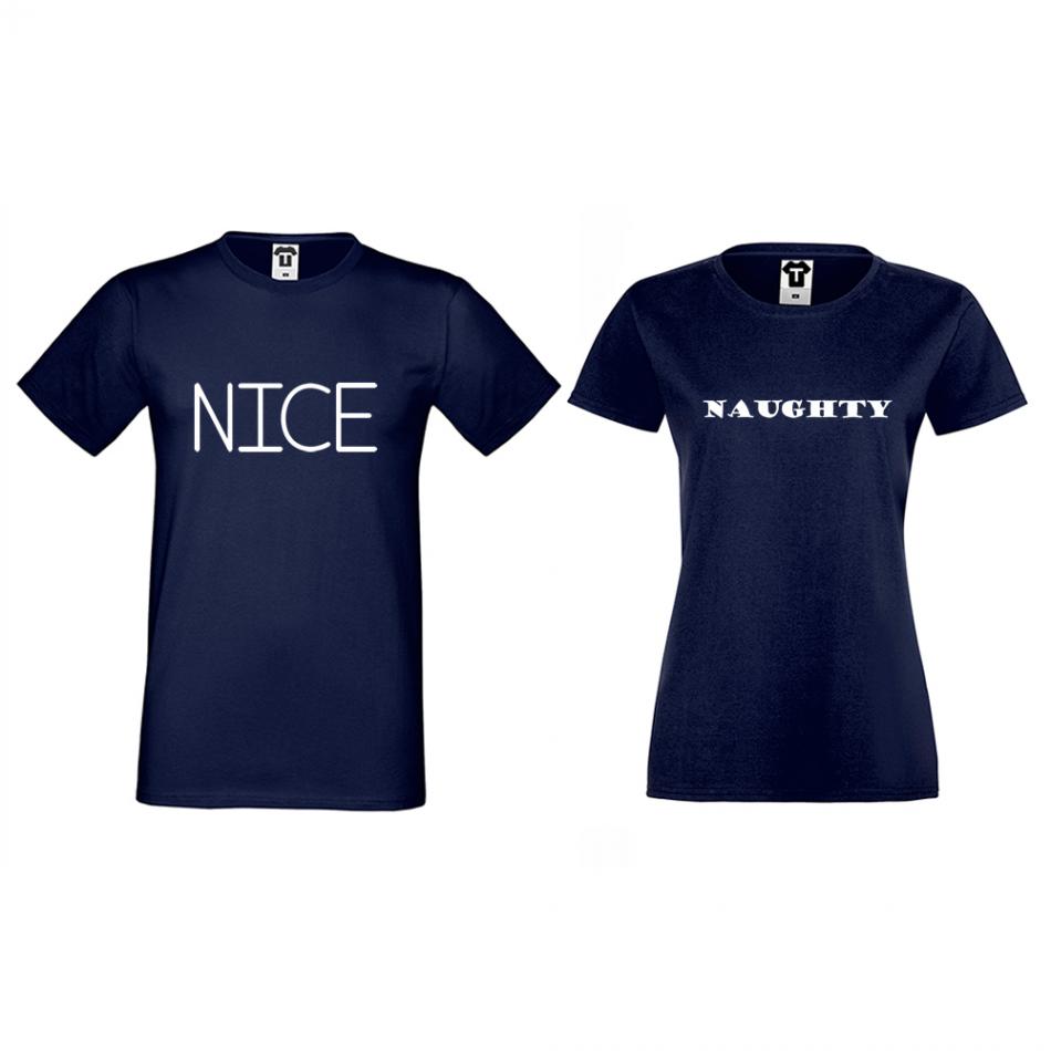 Tričká pre páry Nice Naughty (D-CP-175N)