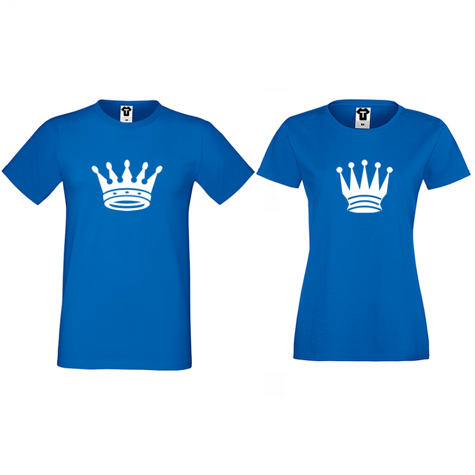 Tričká pre páry Big Crowns