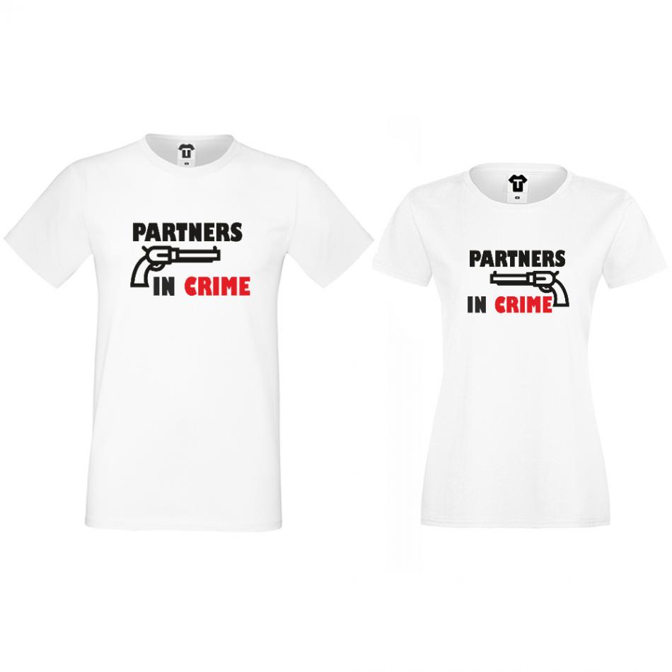 Tričká pre páry Partners in Crime (D-CP-164)