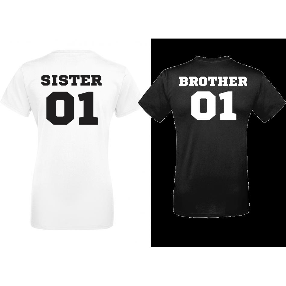 Tričká SISTER & BROTHER 01 (D-CP-007B)