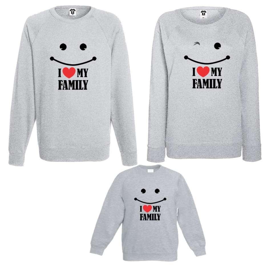 Rodinný set I love my Family