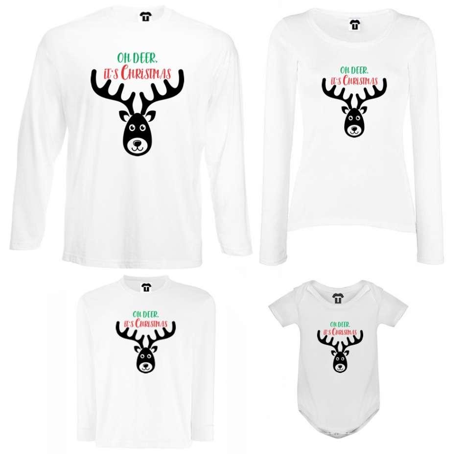 Rodinný set Oh Deer It's Christmas