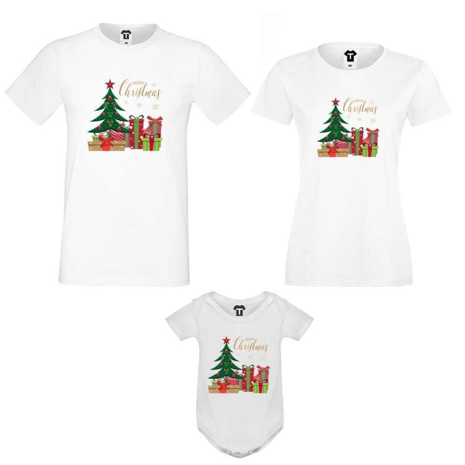 Set mama, otec a dieťa  Merry Christmas Gifts
