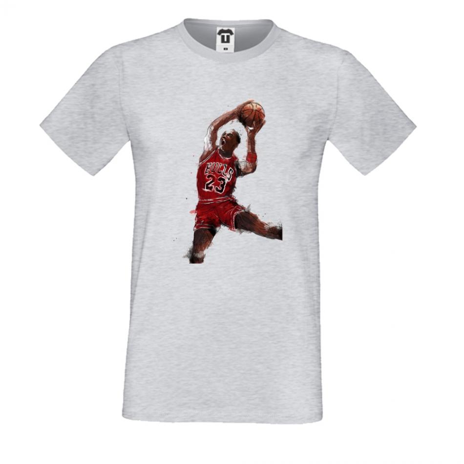 Pánske tričko šedé Jordan (P-M-013G)