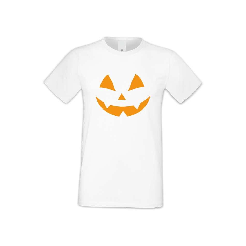 Pánske tričko Halloween face  (S-M-167)